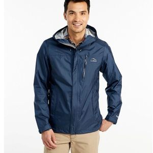 L.L. BEAN MEN'S TRAIL MODEL RAIN JACKET.SIZE XXL